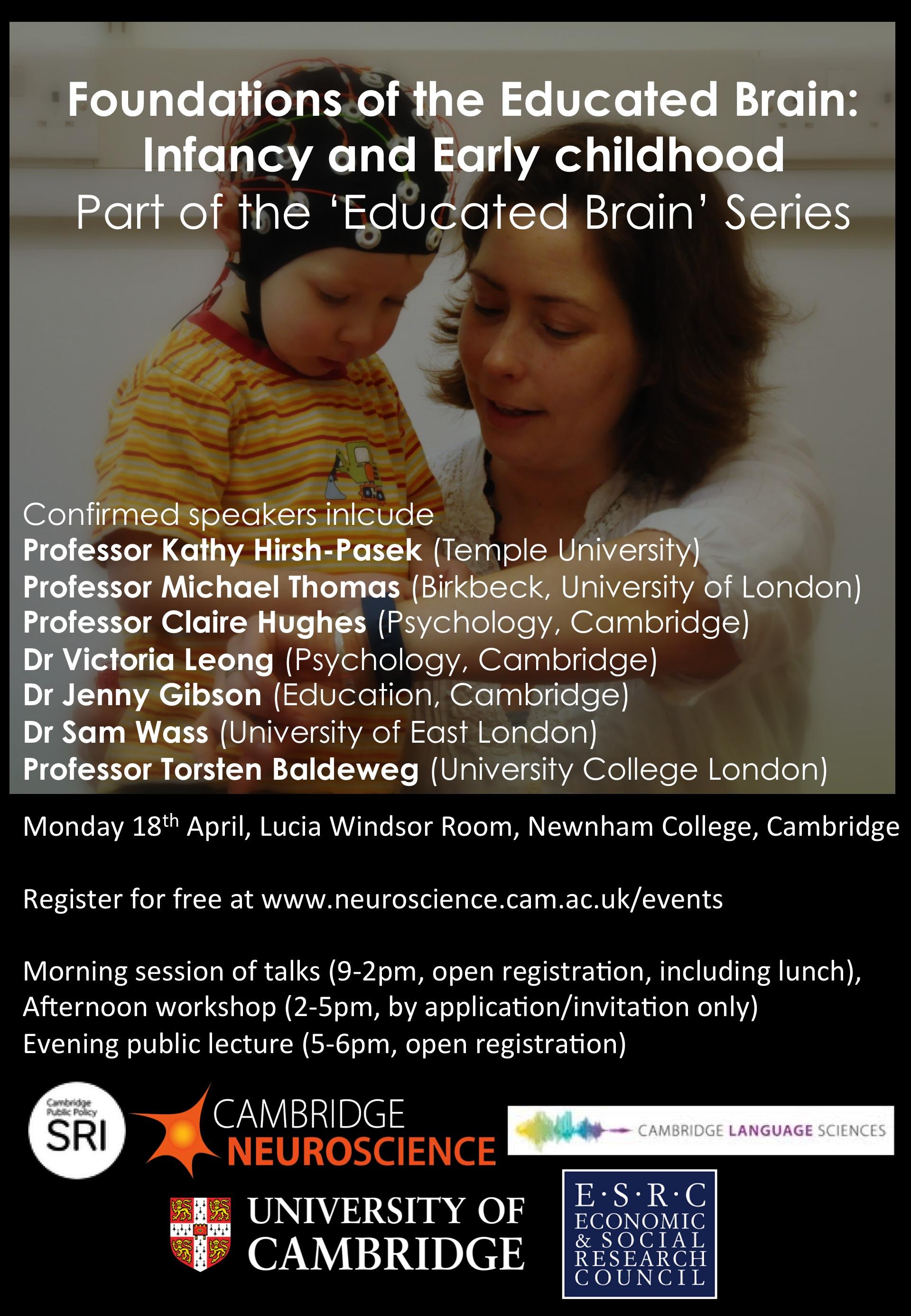 Cambridge Neuroscience Event The Educated Brain Seminar 1
